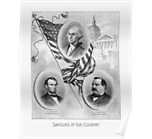 Saviours Of Our Country -- American History Poster