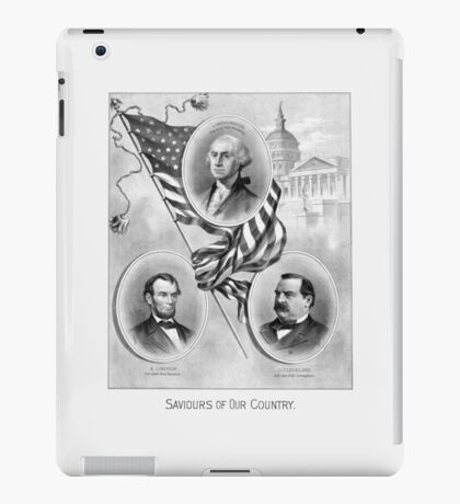 Saviours Of Our Country -- American History iPad Case/Skin