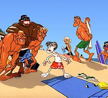 Beach Bullies by Chris Baker