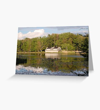 The Summer Home Greeting Card