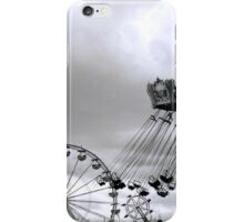 St. Paul, MN - Minnesota State Fair: Midway 2 iPhone Case/Skin