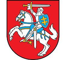 Coat of Arms of Lithuania Photographic Print
