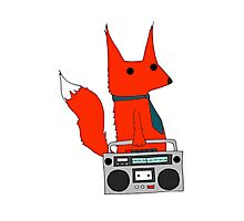 music fox Photographic Print