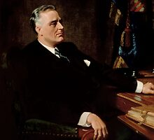 FDR Official Portrait by warishellstore