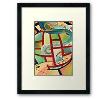 Global Music Framed Print