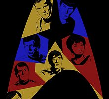 Star Trek The Original Series (Black) by Jairo Guarin