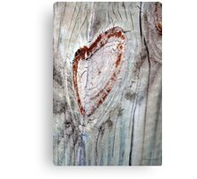 Smiley Heart Canvas Print