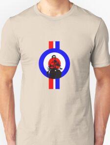 Retro Mod Rider  T-Shirt