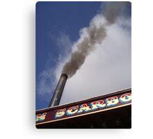 Smoky Sky Canvas Print