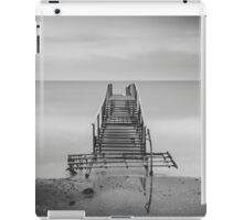 Tranquil Blues - BW iPad Case/Skin