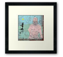 selfportrait,an attempt to identificate patterns 6 Framed Print