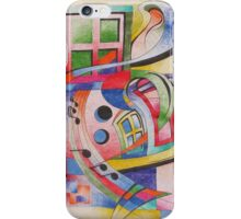 Untitled Colored Pencil iPhone Case/Skin