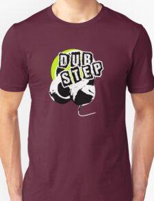 Dub Step Point (with headphones) Unisex T-Shirt