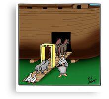 Funny Biblical Humor Canvas Print