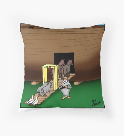 Funny Biblical Humor Throw Pillow