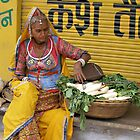 Radish seller, Pushkar, India by photoartindia