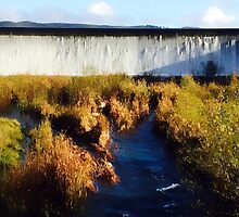 The Spillway, Lake Wallace, Wallerawang NSW  by Deborah McGrath