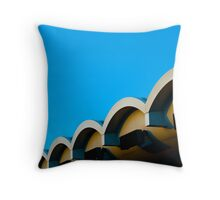 Toll Booths Throw Pillow