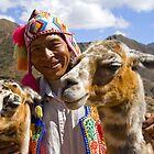 Best Friends in Pisac - Cuzco - Peru by Christine Kradolfer