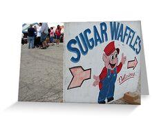Ohio: Mmmm, Sugar Waffle. Greeting Card