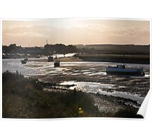 Late Afternoon in Norfolk Poster