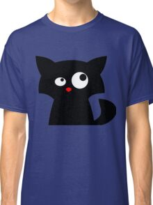 Cat looking at something Classic T-Shirt