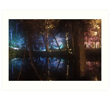 The Enchanted Forest Art Print