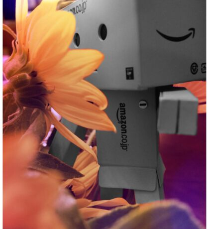 Danbo and his flower Sticker