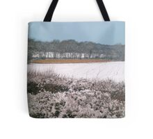 Snow-covered Tote Bag