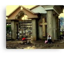 Ethiopia art 14 Canvas Print