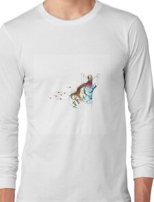 father and daughter , Happy Fathers day! Long Sleeve T-Shirt