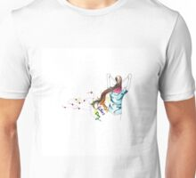 father and daughter , Happy Fathers day! Unisex T-Shirt
