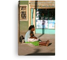 Ethiopia art 23 Canvas Print