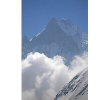 Fishtail mountain from Annapurna Base Camp, Nepal Photographic Print