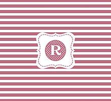 Monogram R by Tiltedgiraffes