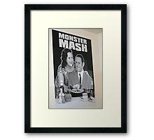 Monster Mash in Edinburgh, Scotland Framed Print