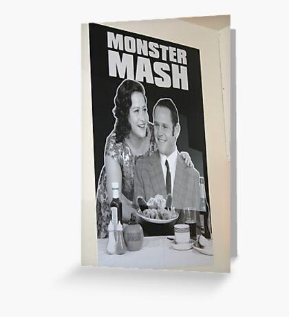 Monster Mash in Edinburgh, Scotland Greeting Card