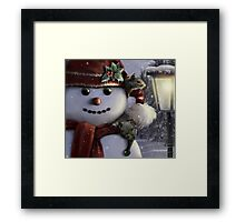 Holiday Friends Framed Print