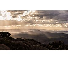 Tasmanian Winter Light Photographic Print