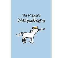 The Majestic Narwhalicorn Photographic Print