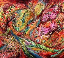 The Exotic Flowers by Elena Kotliarker