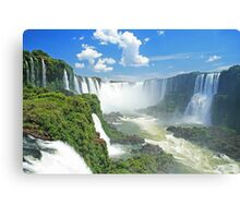 Iguassu Falls - Brazil Canvas Print