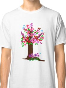 Spring tree with blossoms Classic T-Shirt