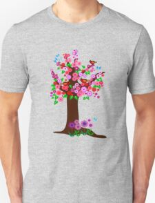 Spring tree with blossoms T-Shirt