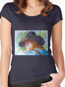Old Cowboy Women's Fitted Scoop T-Shirt