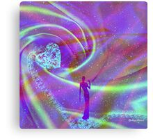Diamonds Are A Girl's Best Friend -  Art + Products Design  Canvas Print