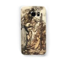 The Rhinegold & The Valkyrie by Richard Wagner art Arthur Rackham 1910 0135 Hey Come Hither Stop Me This Cranny Samsung Galaxy Case/Skin