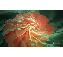 like a flower- Abstract  Art + Products Design  Photographic Print