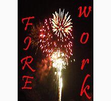 firework Womens Fitted T-Shirt