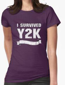 Y2K Survivor Womens Fitted T-Shirt